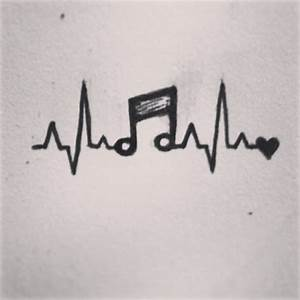 music heartbeat tattoo | Tumblr