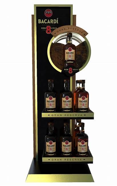 Posm Behance Stand Display Counter Floor Bar