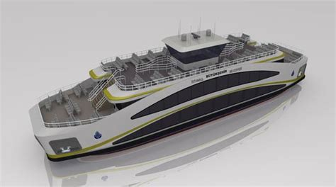 istanbuls  ferry design  ship plans