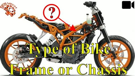 Types Of Bike Frames Or Chassis Used In Bikes.
