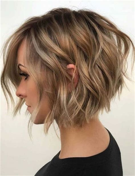 easy short layered hairstyles everyday hairstyles for