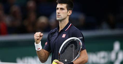 Novak djokovic men's singles overview. Novak Djokovic eases into Paris Masters final against Milos Raonic