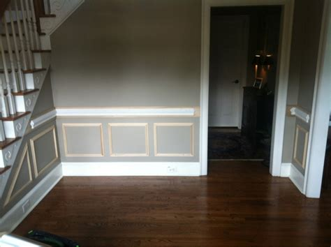 Chair Rail And Picture Frame Boxes  Carpentry Picture