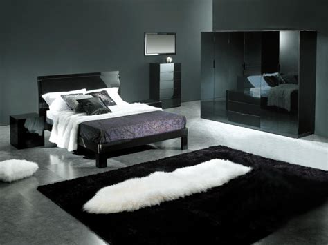 black and gray decor modern interior design ideas for the bedroom home designs project