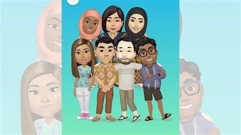 membuat avatar facebook  hp android  iphone