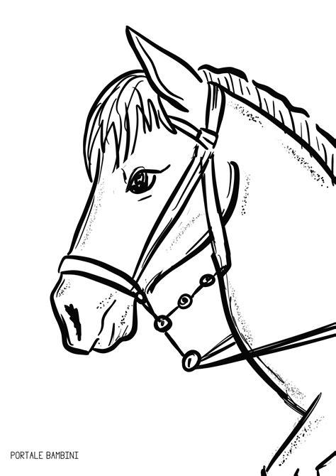 i disegni facili per bambini disegni di cavallo come disegnare un cavallo facile passo