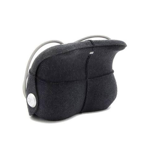 chanel late  millenium grey felted hard shell handbag  stdibs