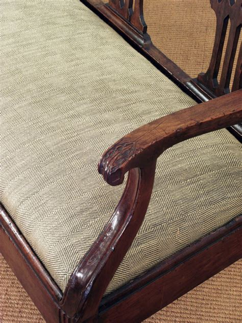 Antique Wooden Settee by Antique Cherry Wood Settee Antique Bench Antique