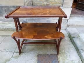 Art Nouveau Mobilier : louis majorelle table desserte aux butom es art nouveau ~ Melissatoandfro.com Idées de Décoration
