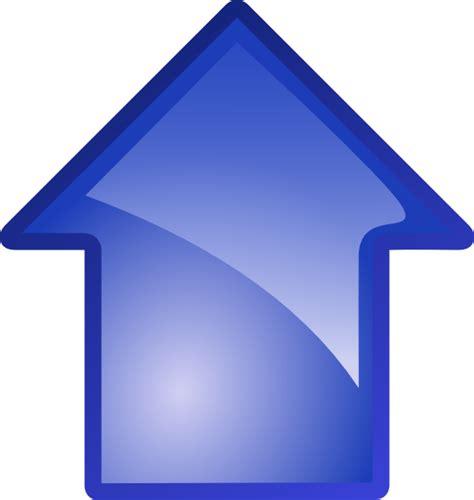 Up Clipart Arrow Blue Up Clip At Clker Vector Clip