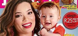 Hildegardt Whites And Her Baby Boy Are Adorable On The Cover Of Kuier