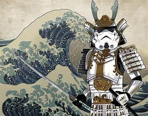 Samurai, Stormtrooper, Art, By, Alessandro, Uggeri, U2014, Geektyrant