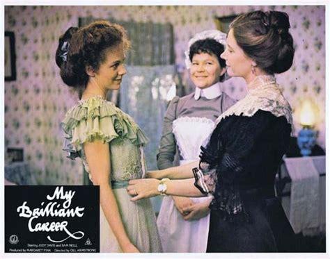 Pour les articles homonymes, voir davis. MY BRILLIANT CAREER 1979 Lobby Card 5 Sam Neill Judy Davis Wendy Hughes   Moviemem Original ...