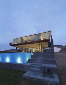 Beach Home In Peru Displays Striking Modern Design  Casa Q