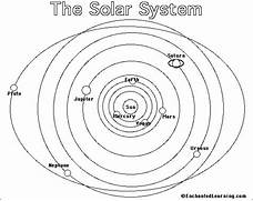 Solar System Black And White Clipart  page 2  - Pics about space  Solar System Black And White Images