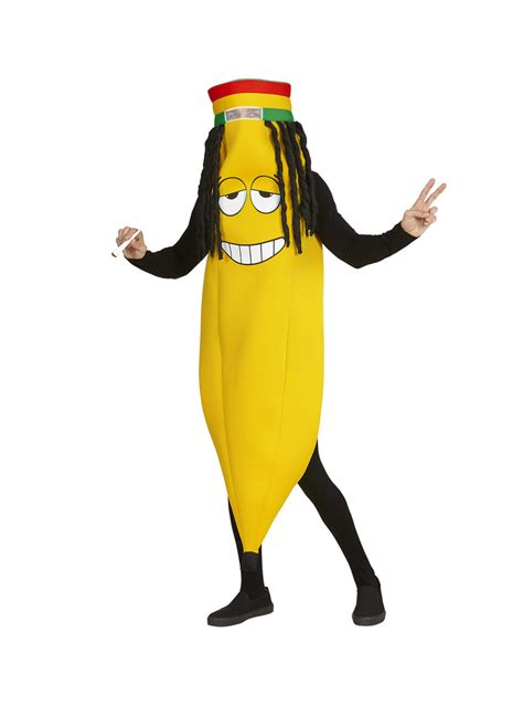 adults rastafarian banana costume  coolest funidelia