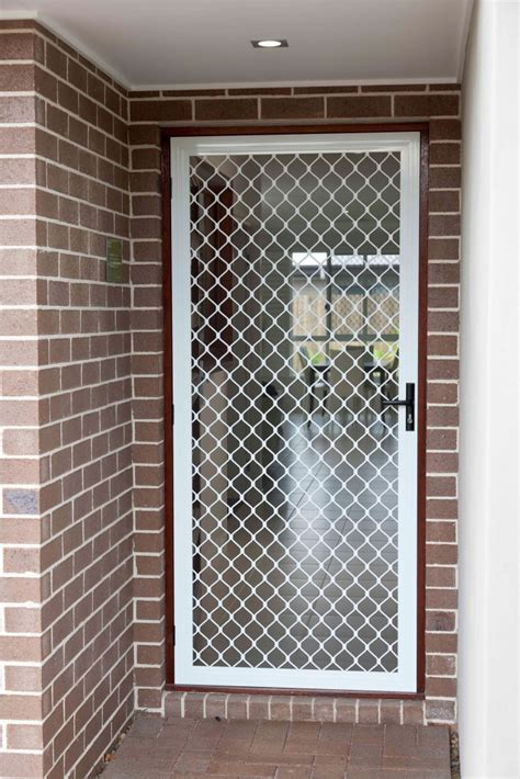 screen door grill grille security screens district screens pty ltd