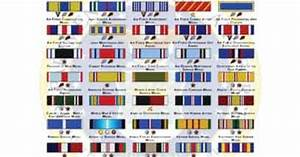 Air Force Ribbon Chart Usaf Medals And Ribbons Order Of Precedence Air Force
