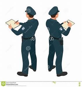 Policeman In Uniform. Policeman Icon. Policeman Vector ...