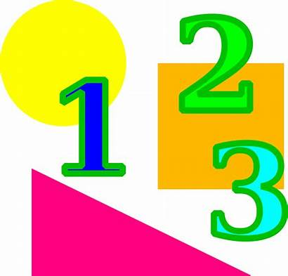 Clipart Numbers Maths Shapes Mathematics Number Ks