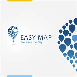 logo designer logo design for easy map by amynsattani on deviantart
