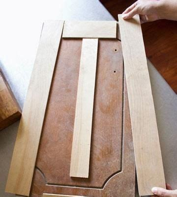 face cabinet doors  thin strips  plywood budget