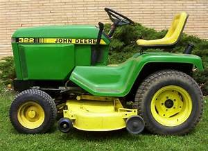 John Deere Lawn Tractor 322 330 332 430 Service Repair