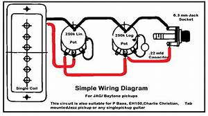 Charlie Christian Pickup Wiring Diagram