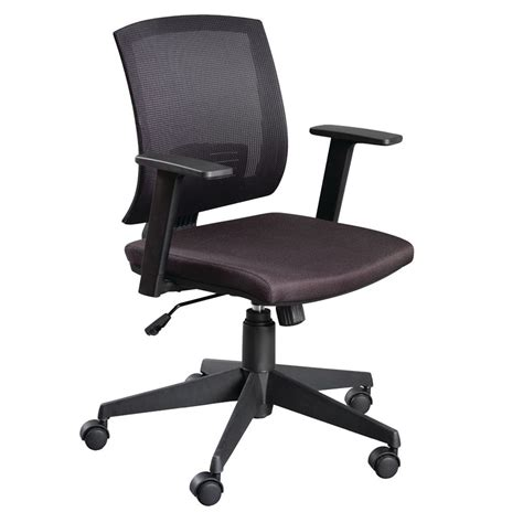 staples bogart mesh task chair black staples 174