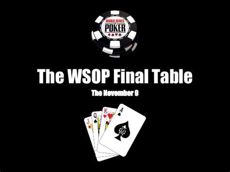 world series of poker final table world series of poker the final table