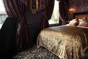 Gothic Victorian Style Bedroom