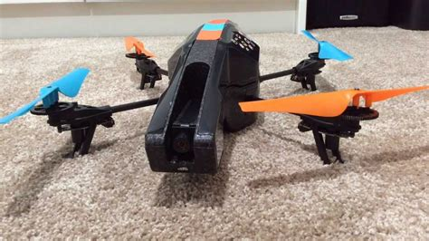 change  propellers   parrot ar drone  youtube