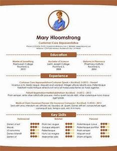 creative resume templates With cool resume formats