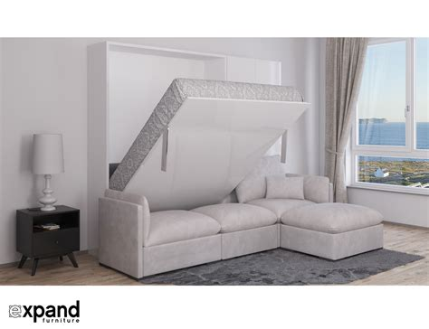 sectional sofa bed murphysofa adagio luxury sectional sofa wall bed