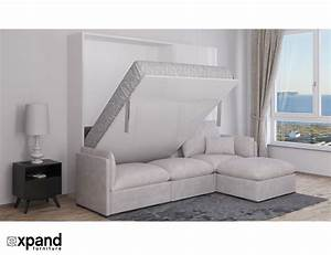 murphysofa adagio queen luxury sectional sofa wall bed With sectional sofa murphy bed