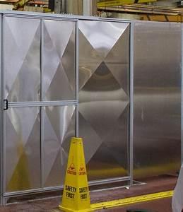 Temporary Exterior Walls - Non-warping patented honeycomb