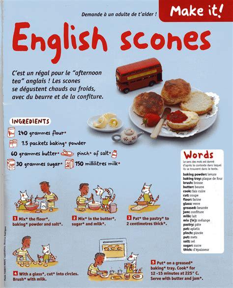 recettes de cuisine en anglais recette de cuisine en anglais 28 images classe de cm2
