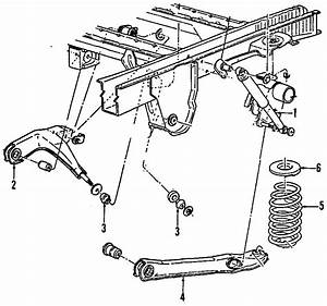 Ford Aerostar Suspension Diagram
