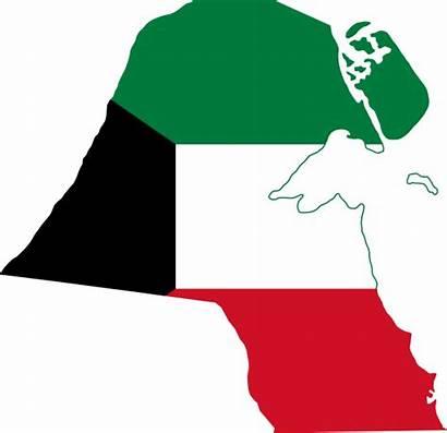 Kuwait Flag Map Svg Commons Wikimedia