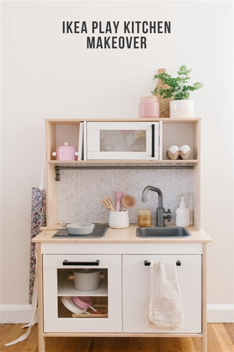ikea play kitchen makeover  mama notes