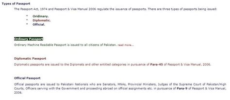 What Are The Different Types Of Passports Issued By The