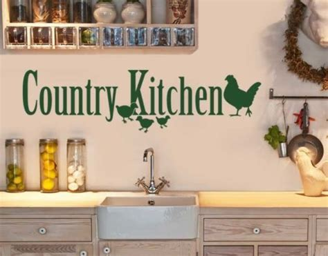 country kitchen wall decals new fashion kitchen vinyl wall decal country kitchen sign 6169