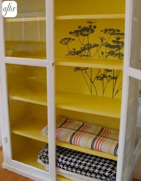 Painting Inside Kitchen Cupboards by Best 25 Paint Inside Cabinets Ideas On Inside