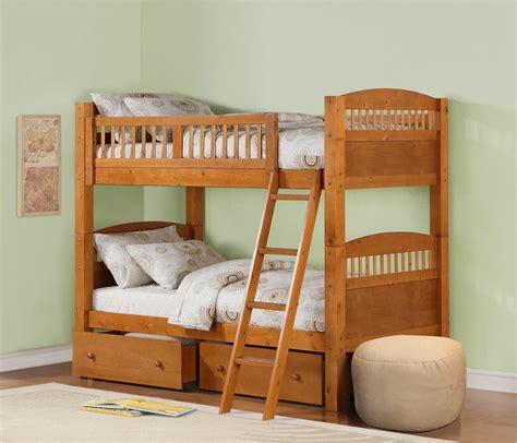dorel bunk bed pine