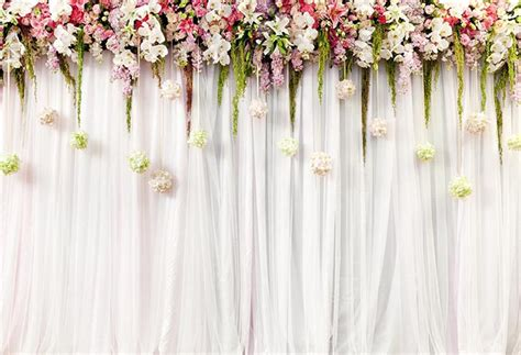 floral wedding stage photography backdropflowers wall