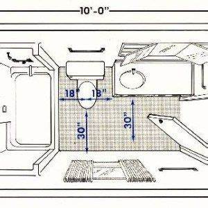 small narrow bathroom layout ideas home pinterest With small full bathroom floor plans