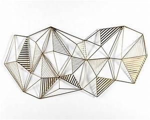 Sculpture Murale Design : deco murale metal deco murale abstraite deco murale moderne deco mural en fer plaque deco metal ~ Teatrodelosmanantiales.com Idées de Décoration