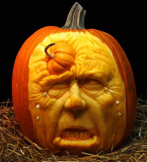 how to create an amazing pumpkin sculptures modern world furnishing designer