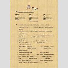 English Worksheets Troy