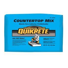 lowes countertop concrete shop quikrete countertop 80 lb gray high strength concrete